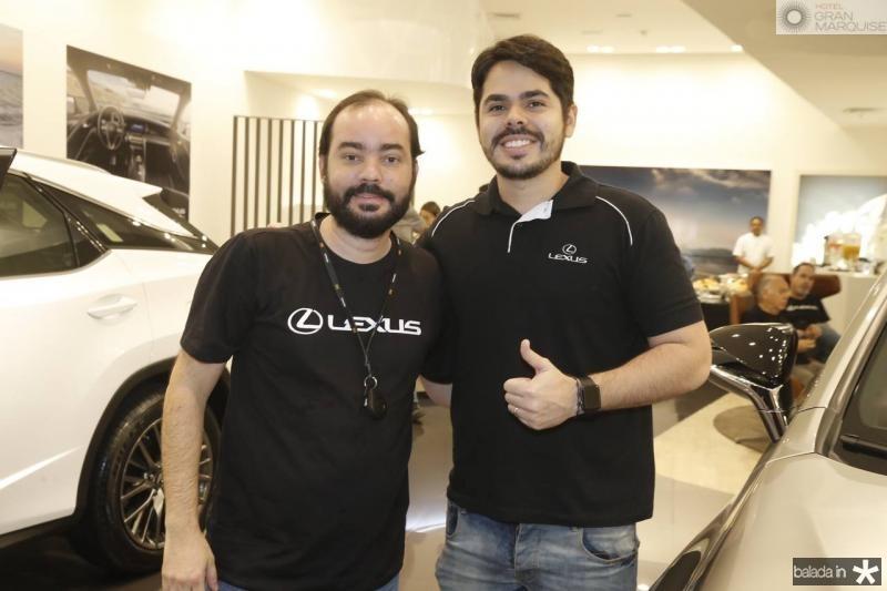 Leandro Saiao e Pedro Lima
