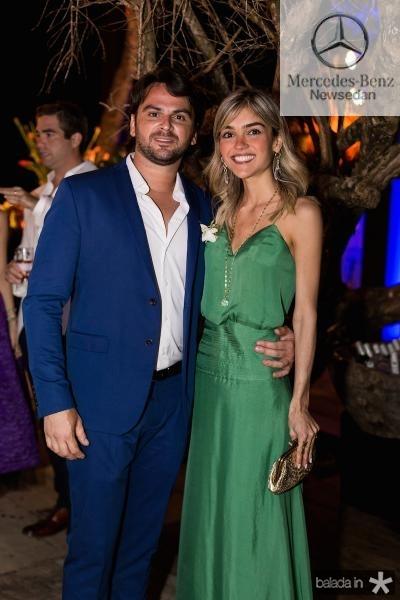 Junior Carvalho e Malu Arruda