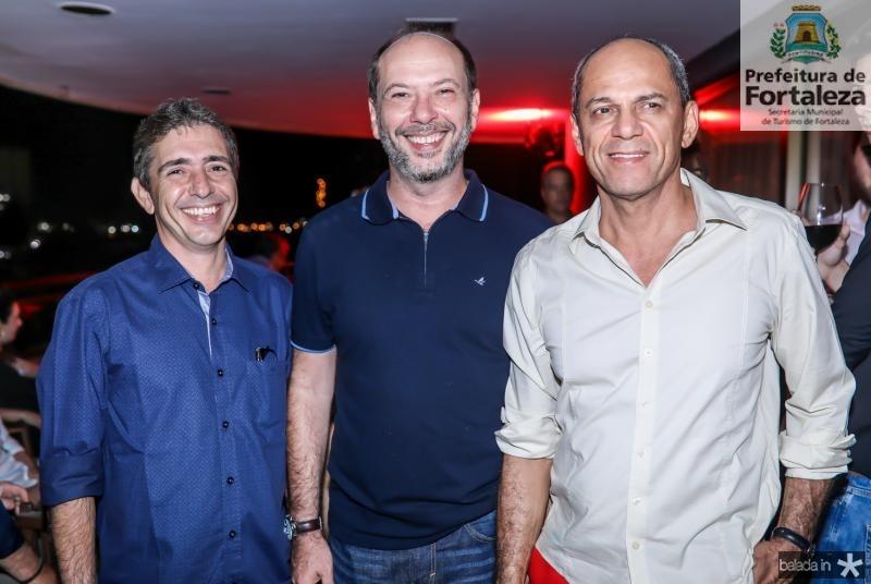 Joao Filho, Ivo Gomes e Mano Alencar