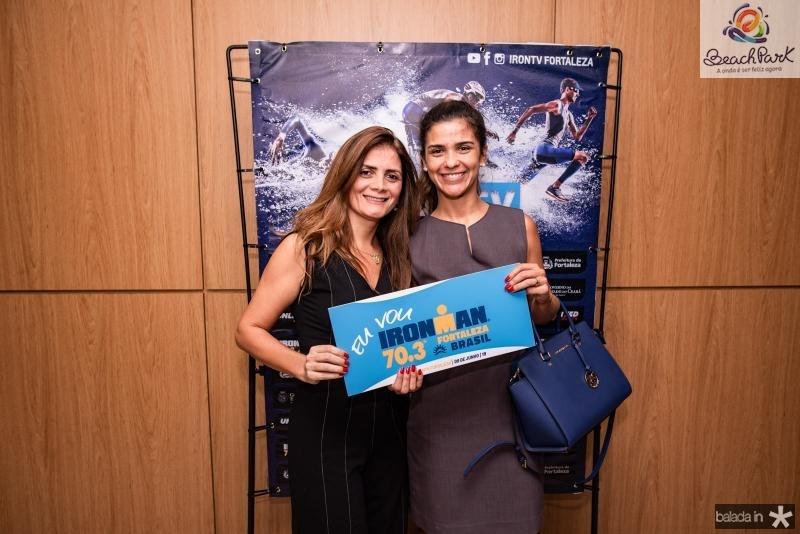 Valeria Farias e Karol Araujo