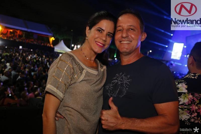 Renata Gurgel e Lazaro Jacomo