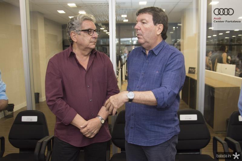 Fred Fernandes e Heitor Studart
