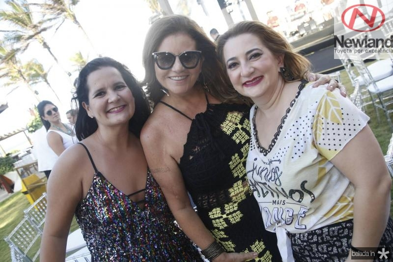 Gisele Machado, Islane Vercosa e Neila Albuquerque