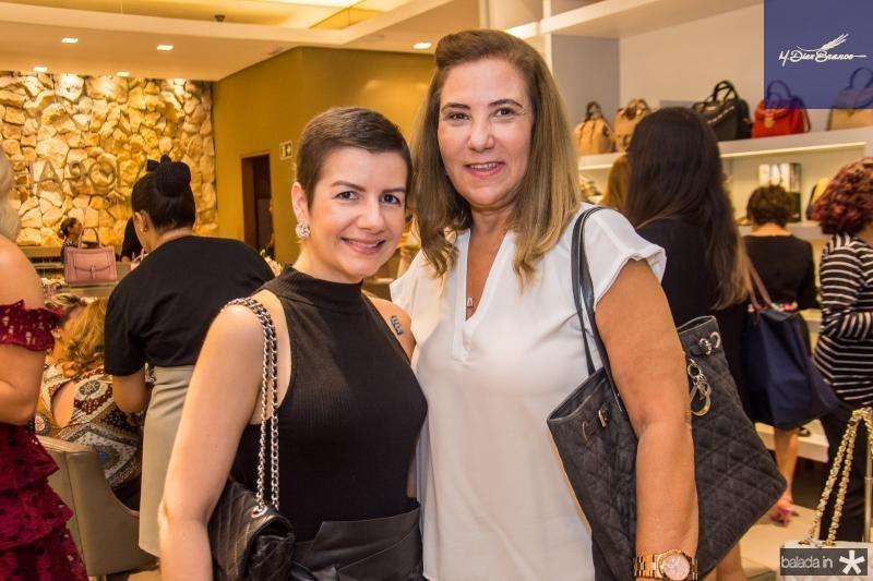 Renata Bastos e Joria Araripe
