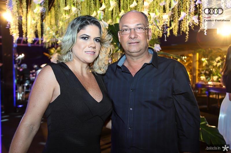 Flavia e Sergio Burlamaqui