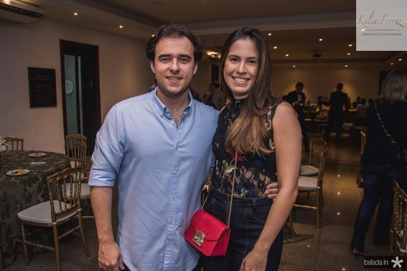 Raimundo Feitosa e Giovana Gondim