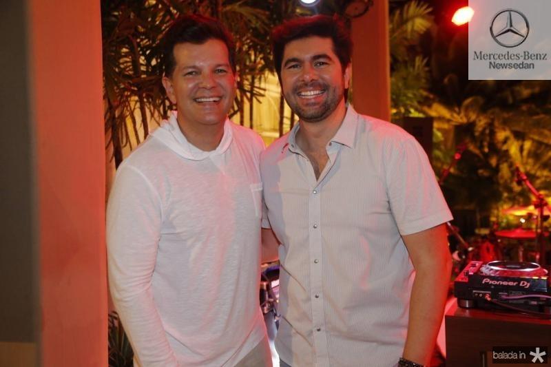 Gustavo Serpa e Itaque Figueiredo