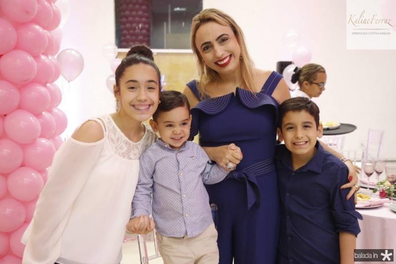 Melina, Tito, Mabel e Dante Portela