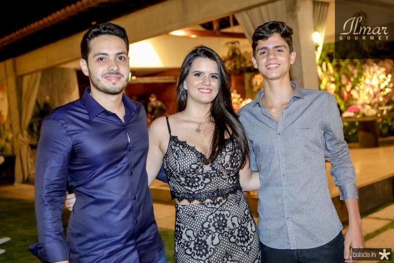 Wagner Mourao, Beatriz Nogueira e Joao Paulo Nogueira