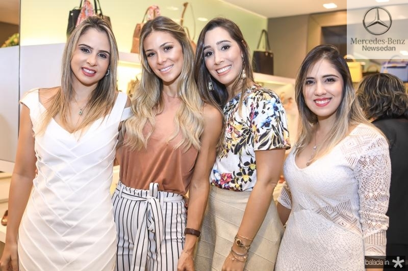 Ingrid Gurgel, Bruna Waleka, Manoela Melo e Juliana Teixeira