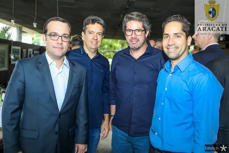Ivo Machado, Mosar Junior, Fernando e Rodrigo Rdrigues