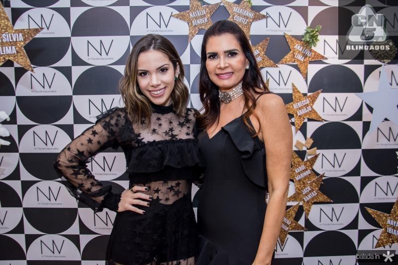 Nicole Vasconcelos e Lorena Pouchain