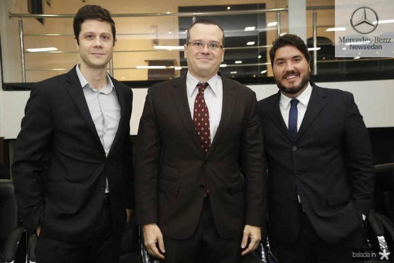 Alexandre Guizardi, Jasson Fonteles e Thiago Silva