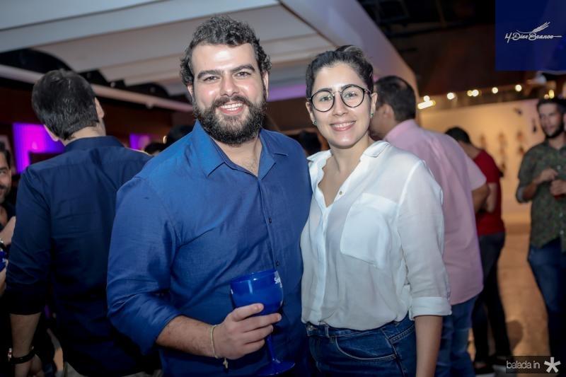 Beto Ponte e Beatriz Quindere