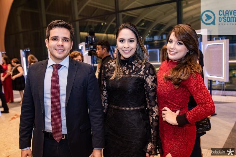 Carlos Santiago, Ana Acioly e Ingrid Vasconcelos
