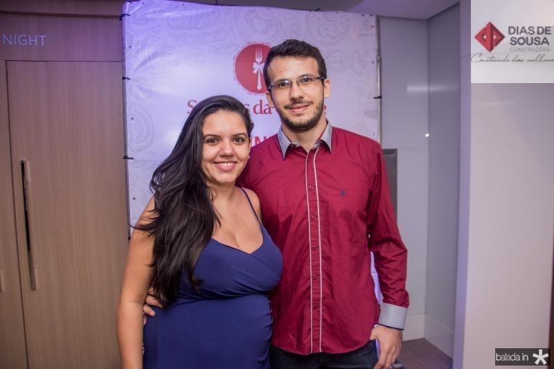 Vanessa Lococo e Ihoran Bolsoni