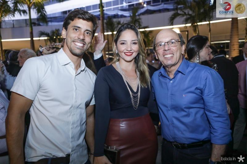 Felipe Holanda, Rafaela e Andre Montenegro