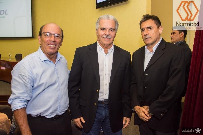 Andre Montenegro, Pio Rodrigues e Pedro Lima