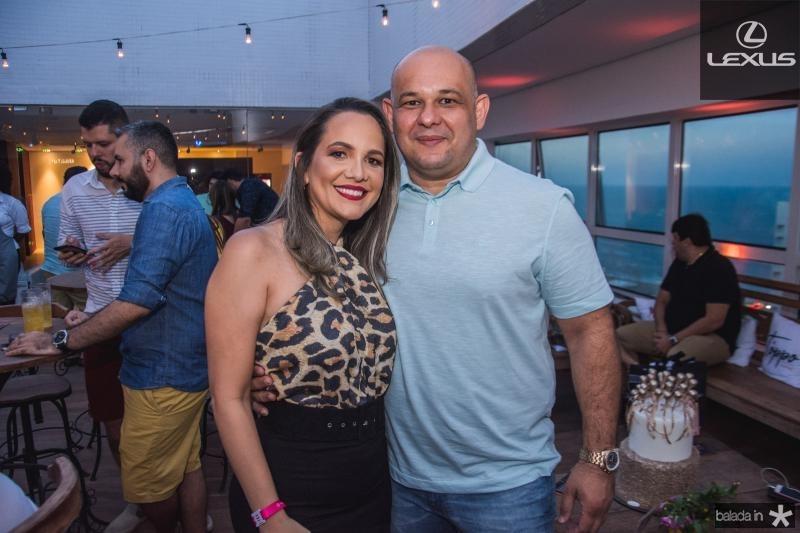 Juliana Sa e Alexandre Arruda