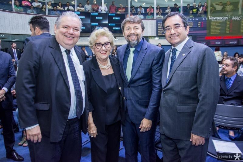 Pedro Jorge Medeiros, Socorro Franca, Elcio Batista e Jackson Cruz