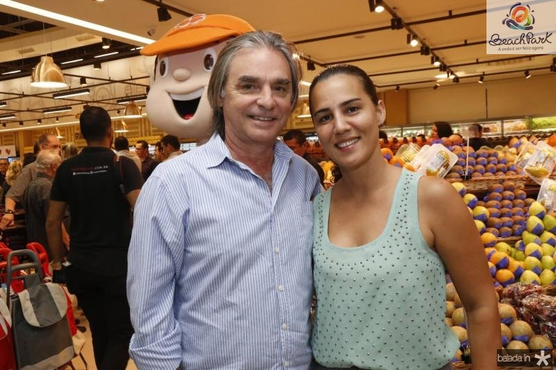 Paulo Angelo e Sheyla Cardilo