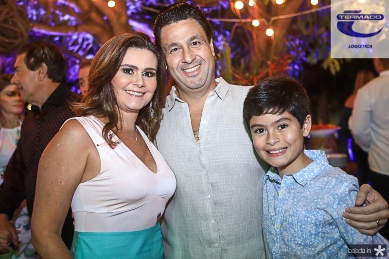Ivana Bezerra, Alexandre Rangel e Bernardo Bezerra