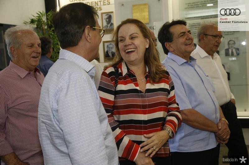 Beto Studart e Ana Curado