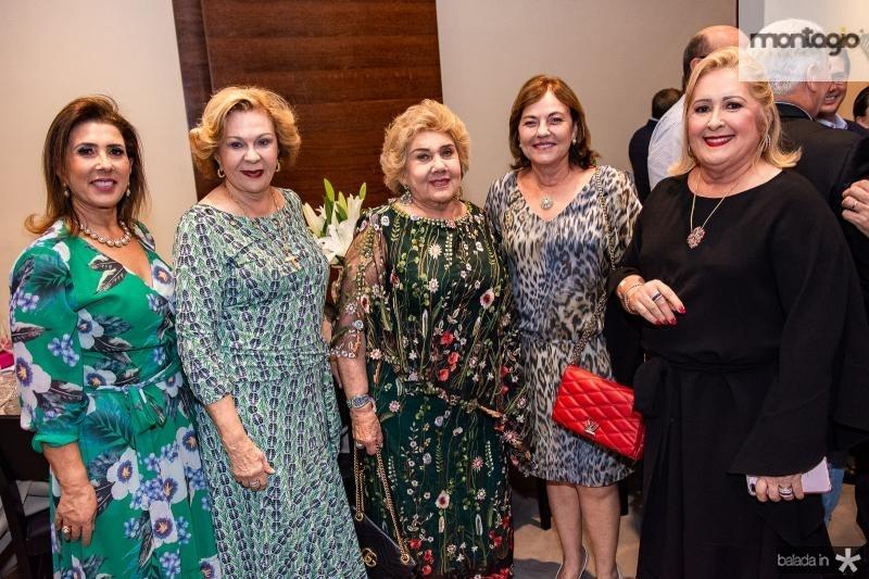 Regina Dias Branco, Auxiliadora Paes Mendonca, Consuelo Dias Branco, Ana Studart e Tereza Gurgel
