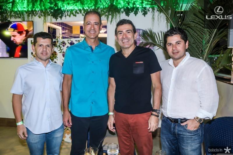 Erick Vasconcelos, Regis Medeiros, Alexandre Pereira e Pompeu Vasconcelos