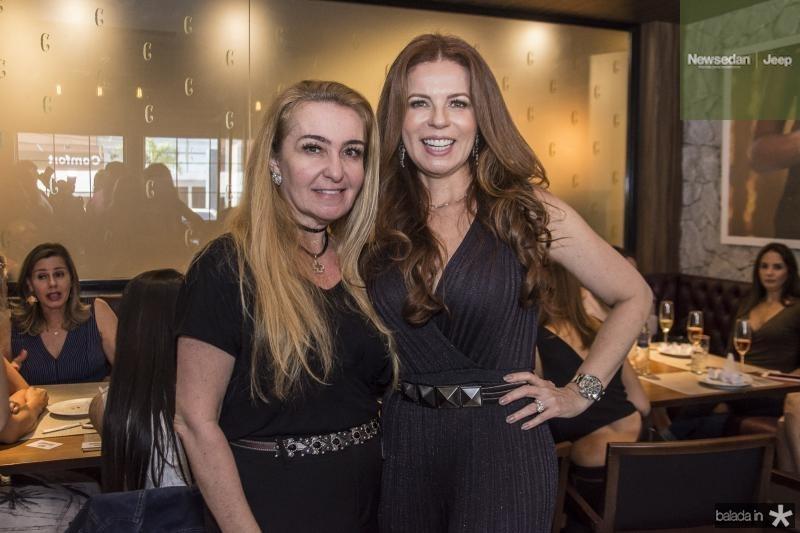 Ilma Braga e Claudia Quental