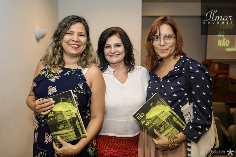 Lisangela Paula, Gloria Diogenes e Flavia Castelo