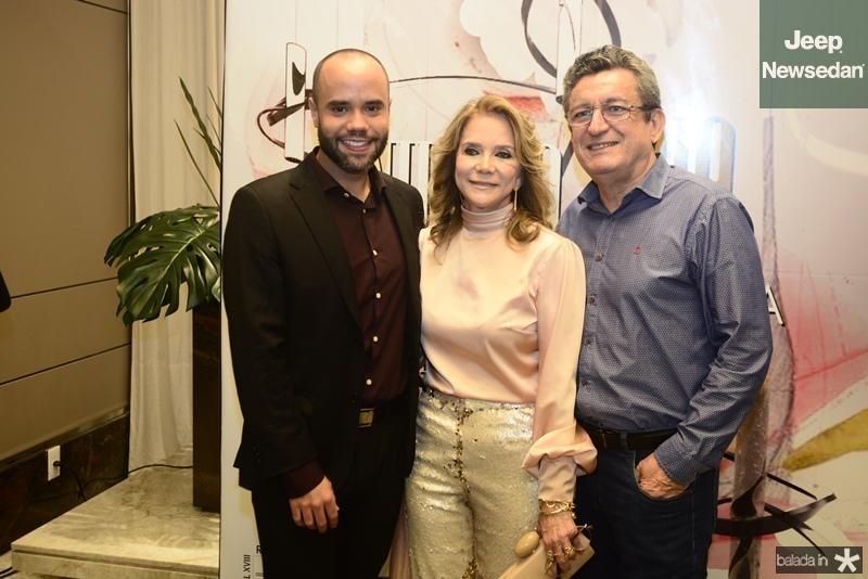 Diego Andrade, Sofia Linhares, Jorge Lotif