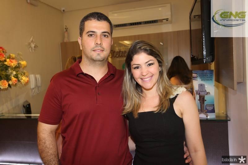 Victor e Vanessa Queiroz