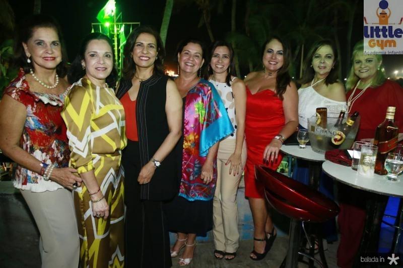 Beta Fiuza, Elusa Laprovitera, Marcia Teixeira, Monica Assis, Telma Freitas, Ana Luiza Costa Lima, Fernanda Laprovitera e Excelsa Costa Lima