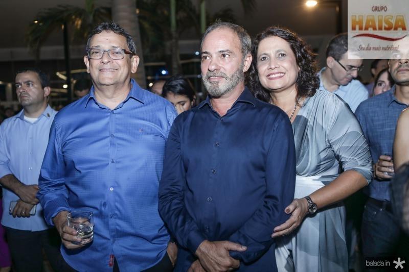 Jose Guedes e Marcos e Andrea Novais