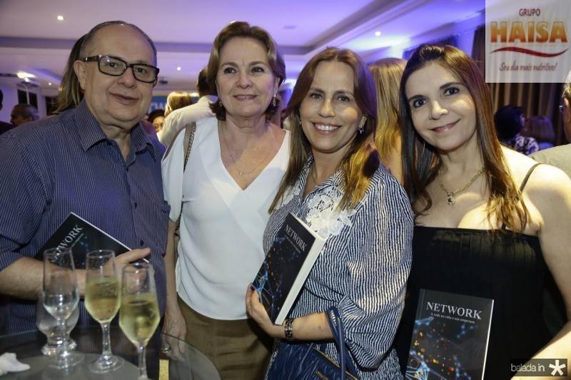 Wilson e Angela Mourao, Eveline Monteiro e Isabelle Martins