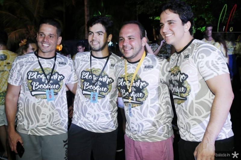 Rafael Sa, Joao Victor Vasconcelos, Daniel Meireles e Panta Neto