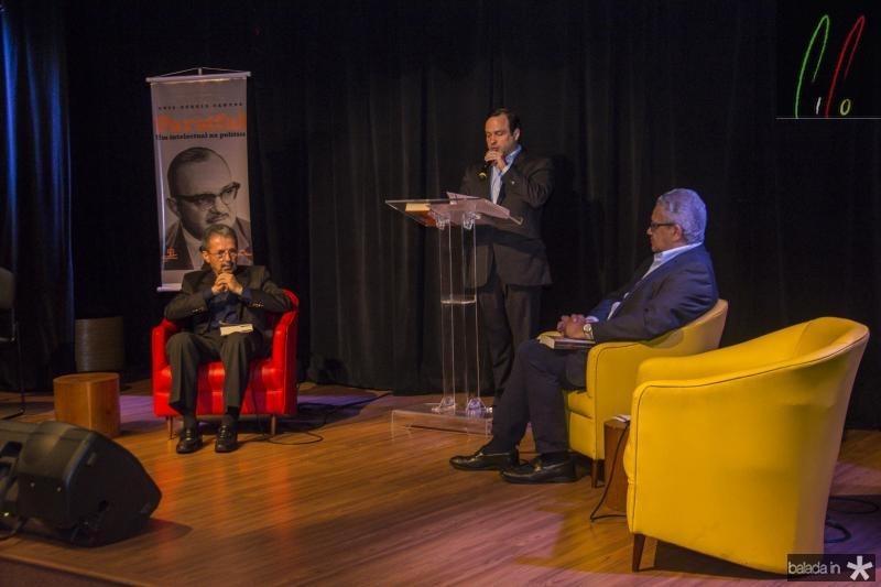 Egidio Serpa, Igor Barroso e Luis Sergio Teixeira