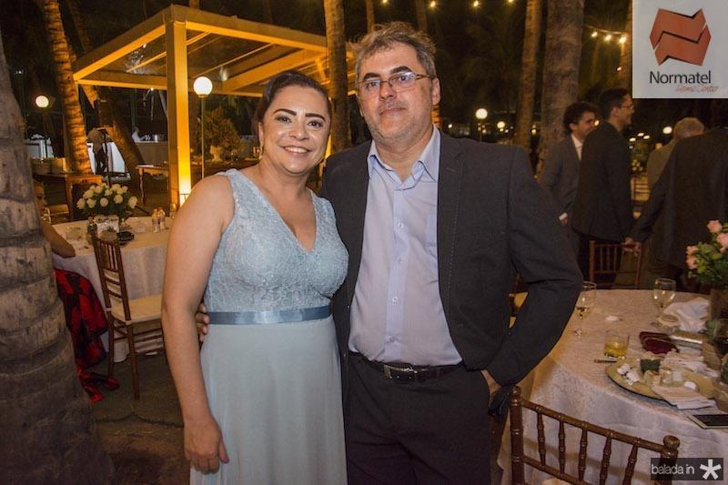 Talita Batista e Germano Cunha