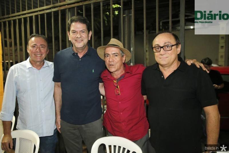Darlan Leite, Cid Gomes, Regis Soares e Tin Gomes