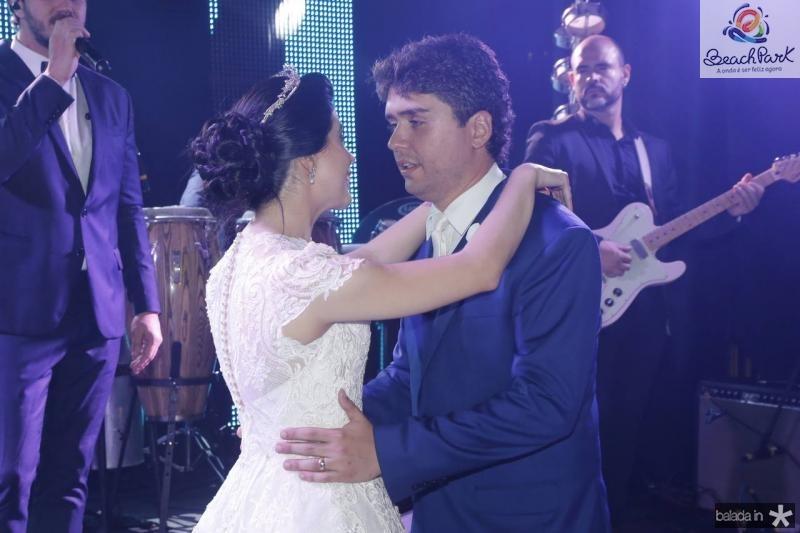 Lorena Aragao e Igor Otoch