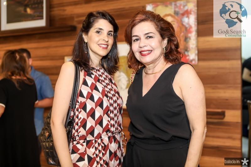 Ana Maria Cisnando e Katia Nobre
