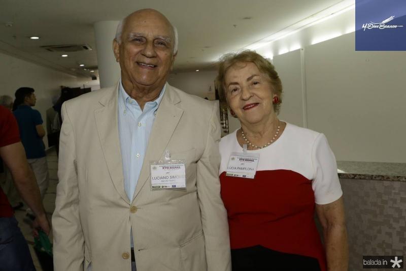 Luciano Simoes e Lucia Pamplona