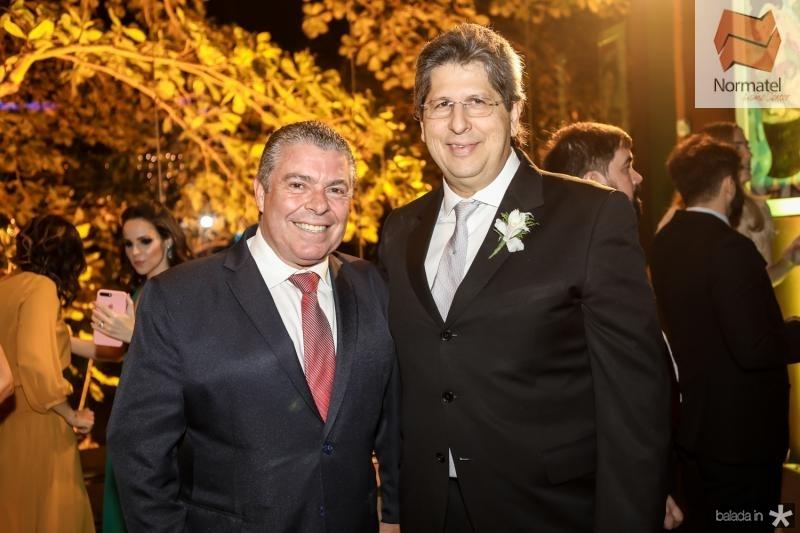 Ricardo Studart e Lucio Bomfim