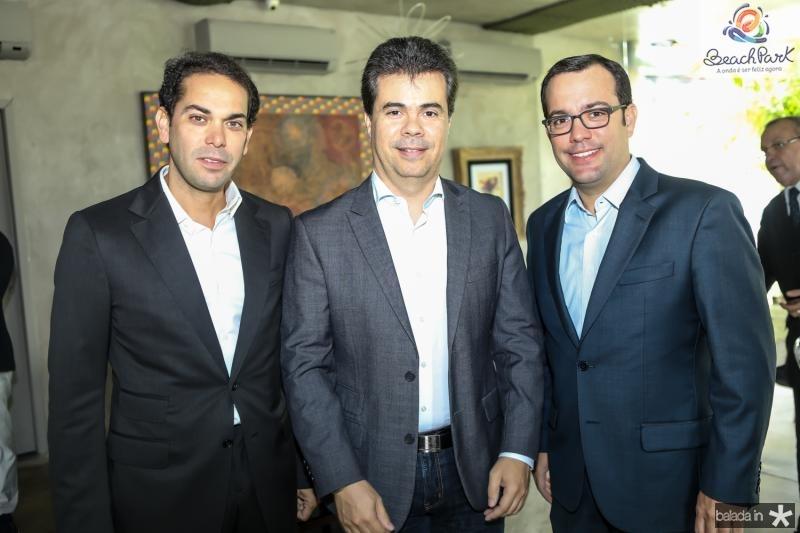 Claudio Vale, Duda Brigido e Ivo Machado