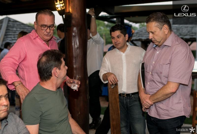Cid Gomes, Chiquinho Feitosa, Pompeu Vasconcelos e Domindos Filho