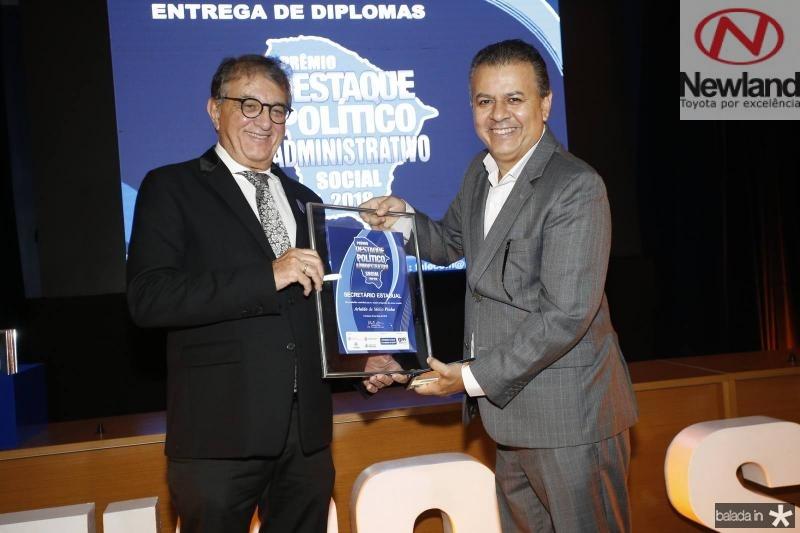 Arialdo Pinho e Valdir Fernandes