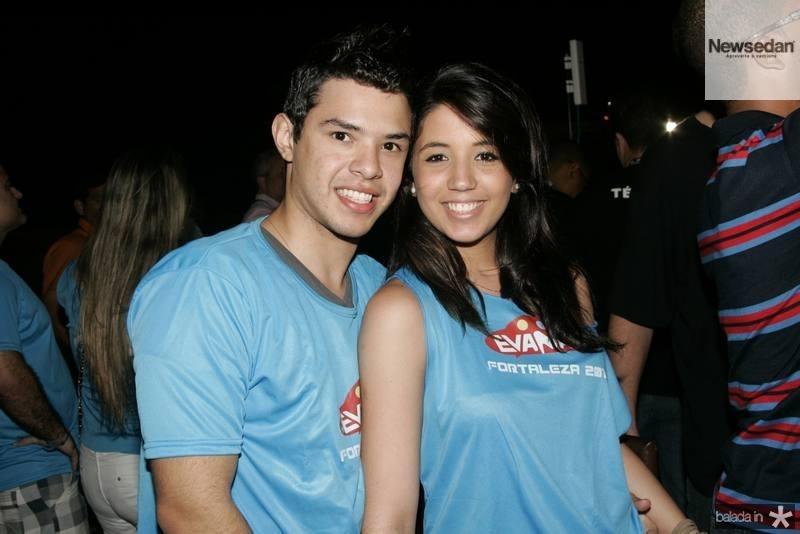 Rafael Vitorino e Luana Nascimento
