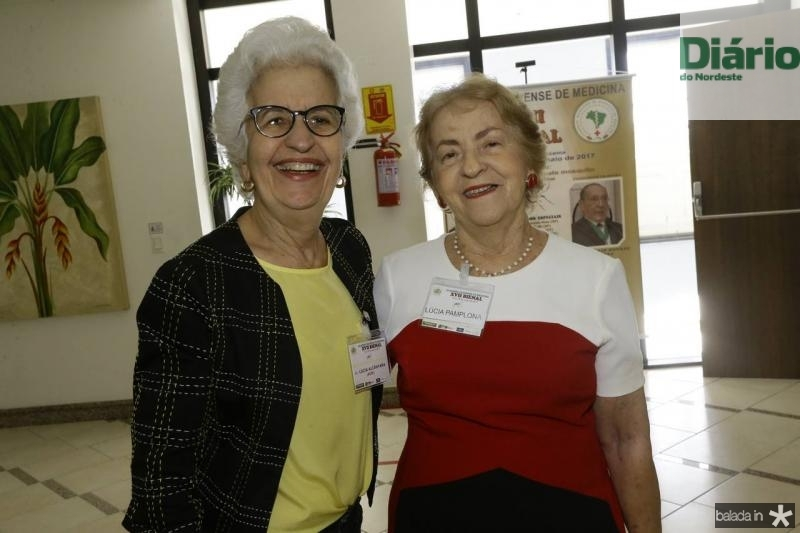 Lucia Alcantara e Lucia Pamplona