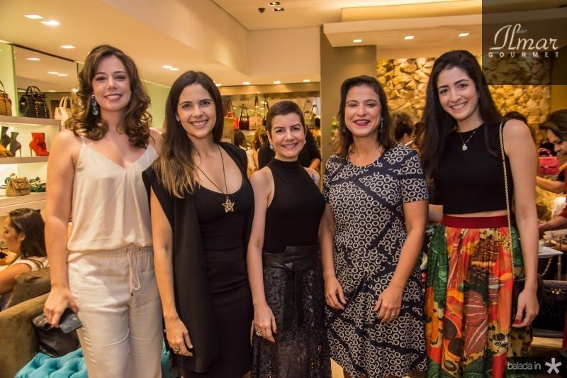 Renata Sleiman, Joana Ramalho, Renata Bastos, Juliana Freitas e Mila Ary